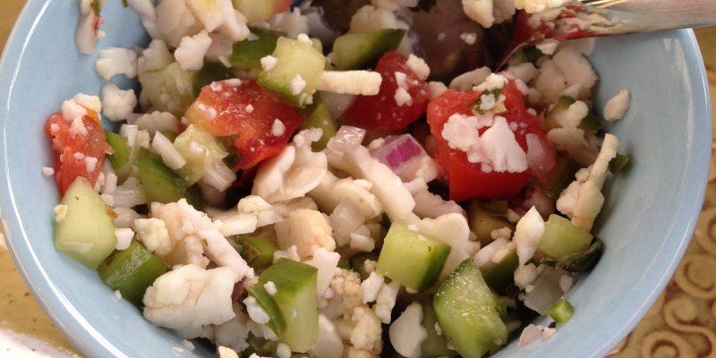 cauliflower salsa, genesis fertility