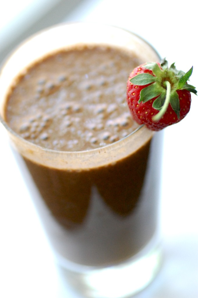fertility boosting Chocolate Kefir Smoothie
