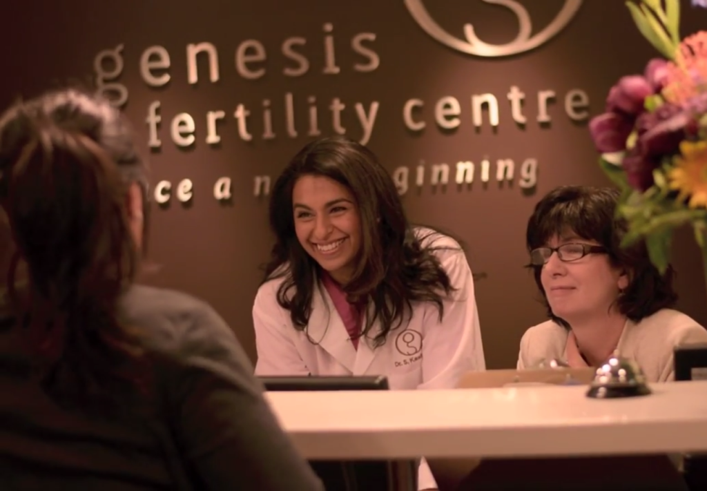Genesis Fertility Centre, First, Canada, Independently Verified, Success, Pregnancy, Rates