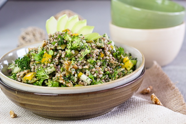 Fertility Food Friday: Spring Buckwheat Salad