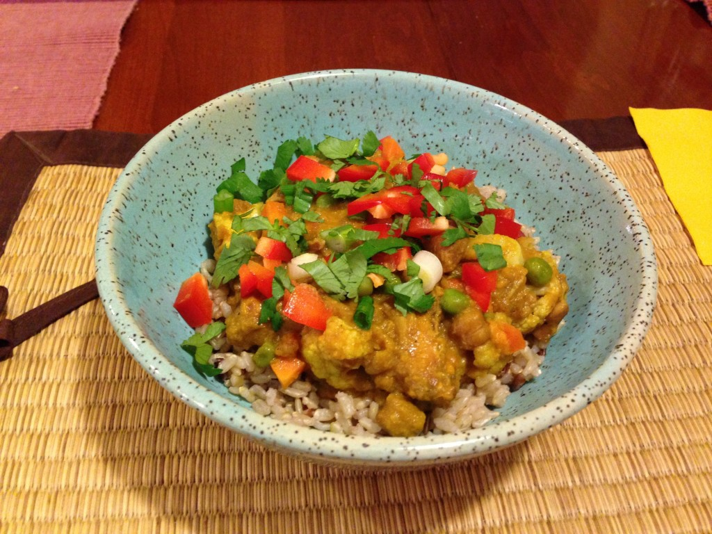 Fertility Food: Coconut Curried Chicken