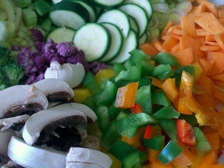 Healthy quinoa salad for fertility