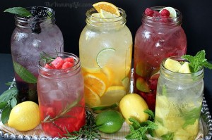 Healthy, fertility boosting infused water recipe by Genesis Fertility Centre in Vancouver