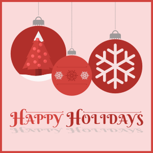 Happy Holidays from Genesis Fertility Centre in Vancouver